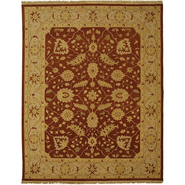 Safavieh Couture Sumak Handmade Flatweave Foli Red/ Beige Wool Area Rug (4' x 6')