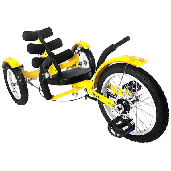 Mobo Mobito The Ultimate Youth Three Wheeled Yellow Cruiser
