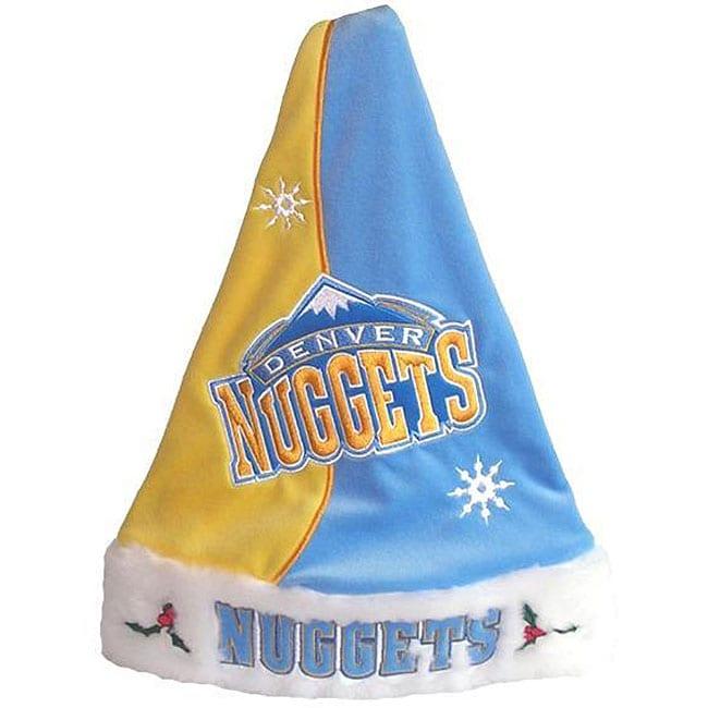 Denver Nuggets Santa Hat