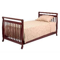 DaVinci Emily Mini Crib in Cherry