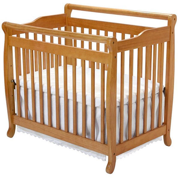 Shop Davinci Emily Mini Crib In Oak Free Shipping Today