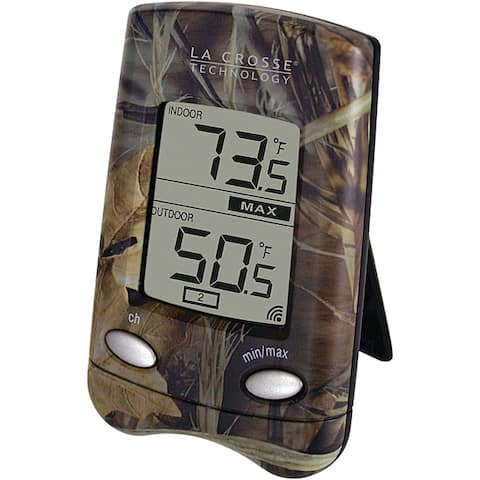 La Crosse Technology WS-9002U-CAMO Wireless Thermometer