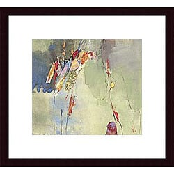 Sara Chang 'Adagio' Wood Framed Art Print