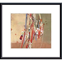 Sara Chang 'Celebration II' Metal Framed Art Print