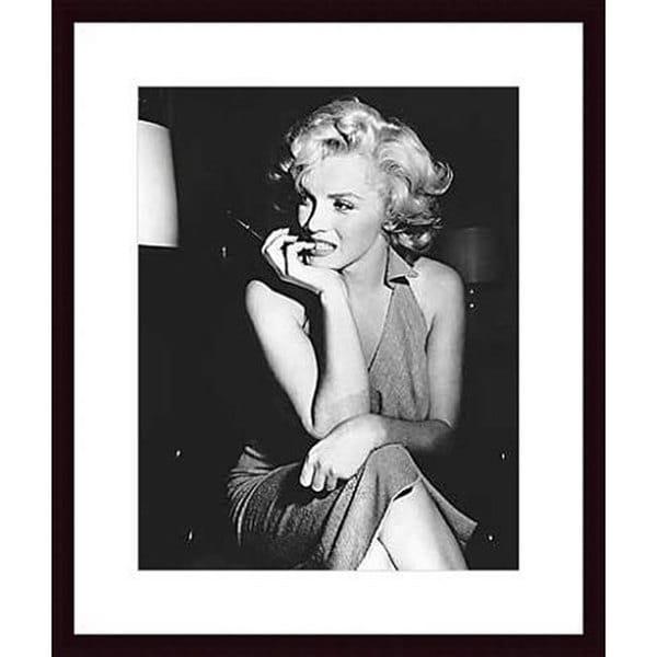 Shop Photo \'Marilyn Monroe, 1952\' Wood Framed Print - Free Shipping ...