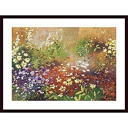 Aleah Koury 'Meadow Garden V' Wood Framed Art Print