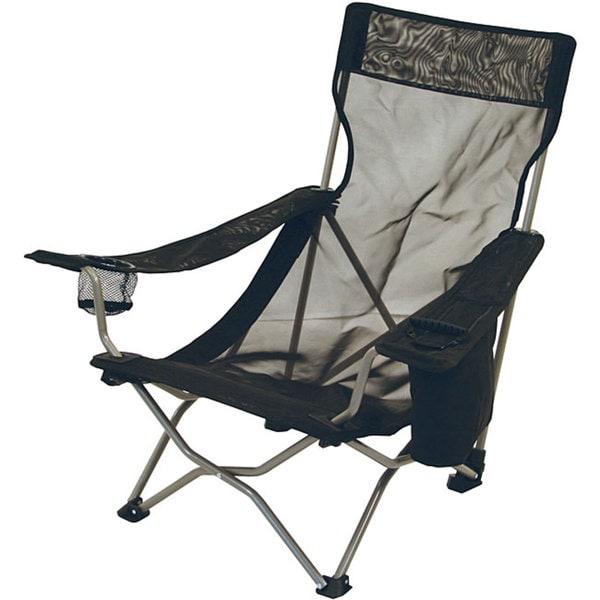 ALPS Mountaineering Black Mesh Getaway Chair