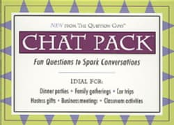 Chat Pack: Fun Questions to Spark Conversations (Cards)