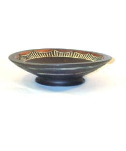 Decorative African Fruit Bowl (Ghana) - Thumbnail 1