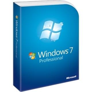 Microsoft Windows 7 Professional 64-bit - 1 PC