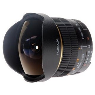Rokinon 8mm F3.5 Ultra Wide Aspherical Fisheye Lens for Nikon