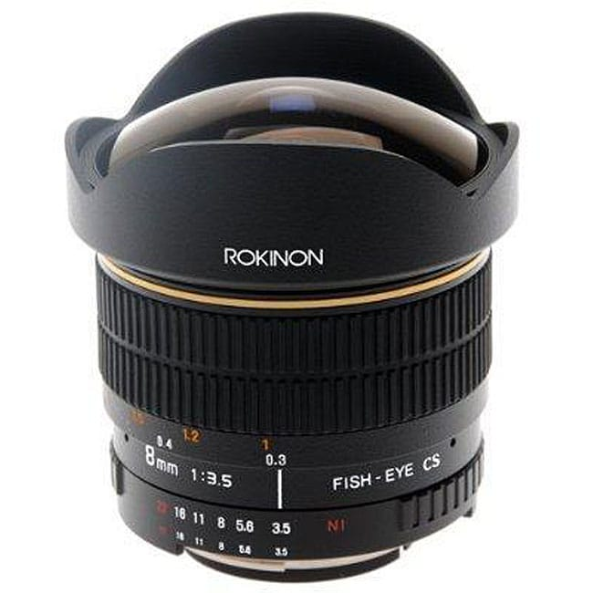 Rokinon 8mm F3.5 Ultra Wide Aspherical Fisheye Lens for Sony Alpha - Thumbnail 0