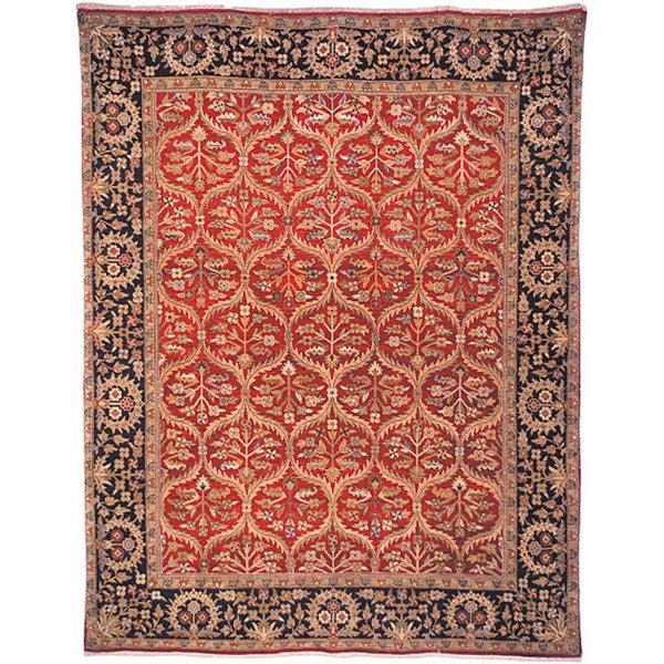 Shop Handmade Safavieh Couture Old World Kerman Red Wool