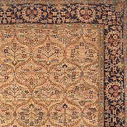 Heirloom Hand-knotted Treasures Kerman Wool Rug (4' x 6') - Thumbnail 1