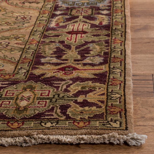 Couture Handmade Old World Traditional Oriental - Camel Wool Rug - 8' x 10'