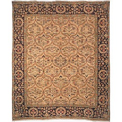 Heirloom hand-knotted 'Treasures' Kerman Wool Rug (8' x 10')