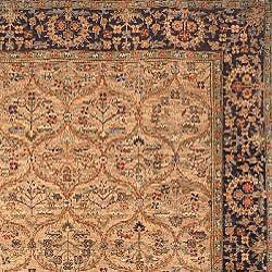 Heirloom Hand-knotted 'Treasures' Kerman Wool Rug (9' x 12') - Thumbnail 1