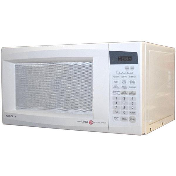 Goldstar 1000 Watt White Counter Top Microwave Oven
