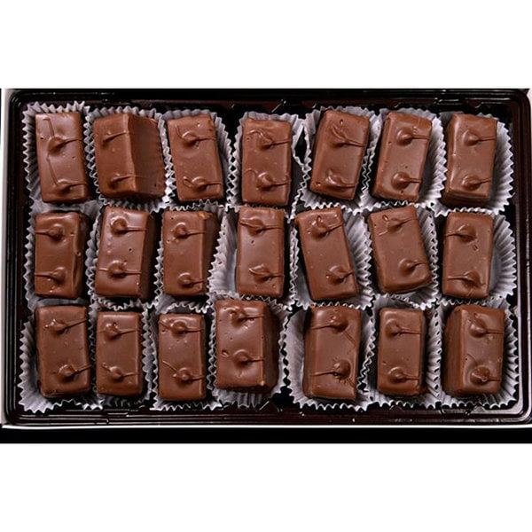 Bidwell Candies 1-pound Chocolate Caramels Candy Box