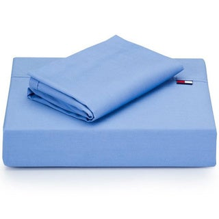Tommy Hilfiger Nantucket Blue 4-piece Sheet Set (Full/Queen)