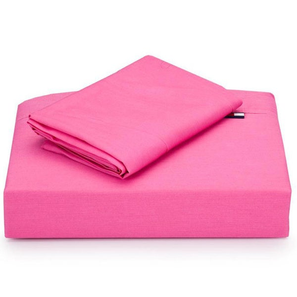 Tommy Hilfiger Petal Pink 4-piece Sheet Set (Full/Queen)