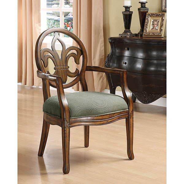 Fleur De Lis Arm Chair Free Shipping Today