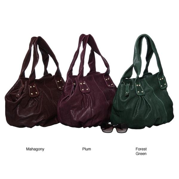 Shop Sorial Leather Hobo-style Handbag - Free Shipping Today ... 2b80ea6eb0