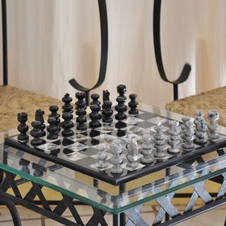 Handmade 'Sophisticate' Marble Chess Set (Mexico)