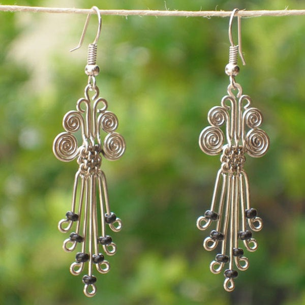 Handmade Silverplated Legacy Earrings (Kenya)