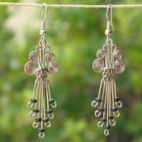 Handmade Silverplated Legacy Earrings (Kenya)