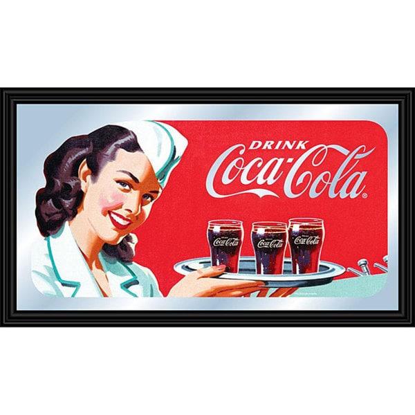 Coca Cola Collectible Vintage Mirror
