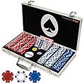 Set of 300 Professional Maverick Poker Chips with Case