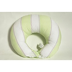 Bacati Metro Lime Nursing Pillow Cover