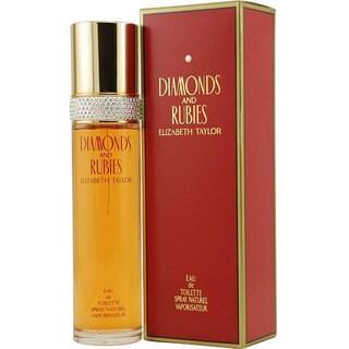 Elizabeth Taylor Diamonds and Rubies Women's 1.7-ounce Eau de Toilette Spray