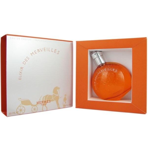 Shop Hermes Elixir Des Merveilles Womens 17 Ounce Eau De Parfum