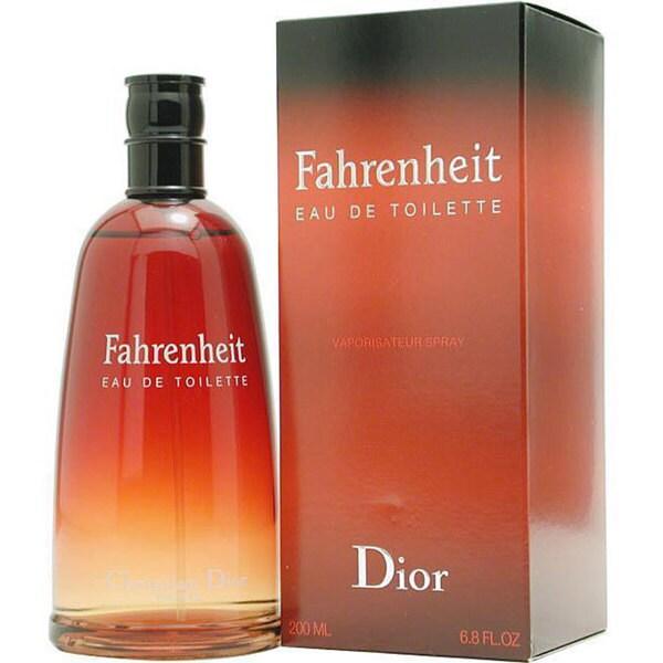 Shop Christian Dior Fahrenheit Mens 68 Ounce Eau De Toilette Spray