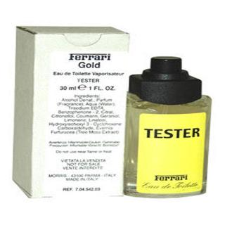 Ferrari Yellow Men's1-ounce Eau de Toilette (Tester) Spray