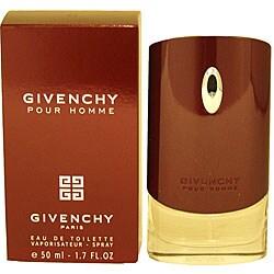 Givenchy Pour Homme Men's 1.7-ounce Eau de Toilette Spray