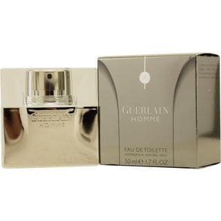 Guerlain Homme Men's 1.7-ounce Eau de Toilette Spray