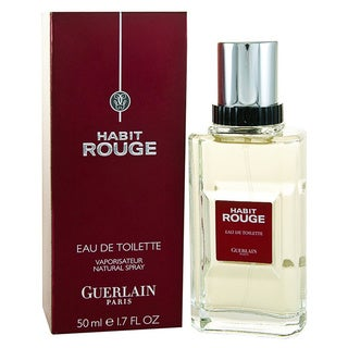 Guerlain Habit Rouge Men's 1.7-ounce Eau de Toilette Spray
