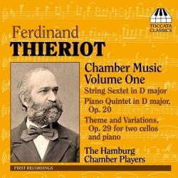 Hamburg Chamber Players - Thieriot: Chamber Music Vol 1