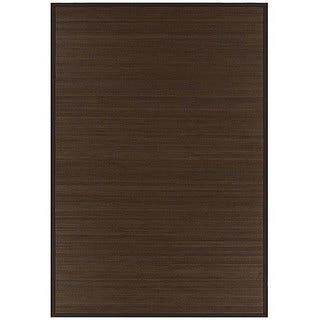 Hand-woven Rayon from Bamboo Brown Rug (8' x 10')|https://ak1.ostkcdn.com/images/products/4353294/P12321217.jpg?impolicy=medium