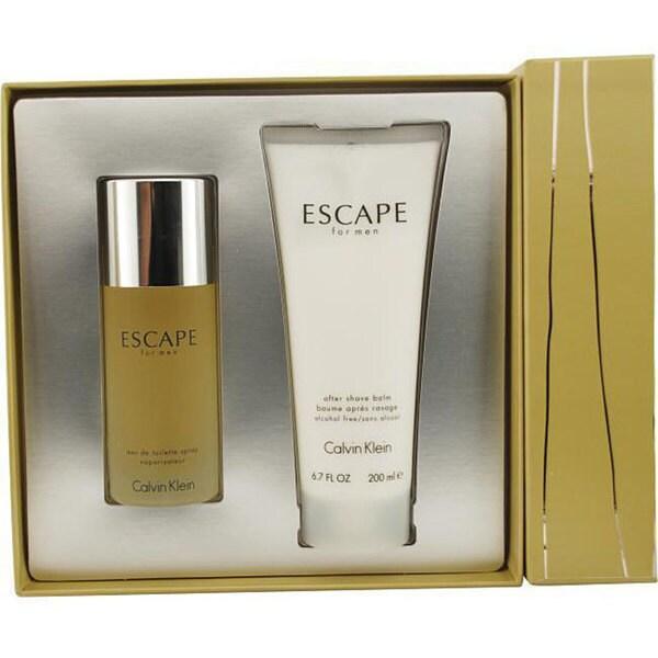 Calvin Klein Escape Men S 2 Piece Fragrance Set Free