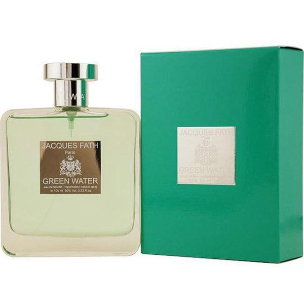 Jacques Fath Green Water Men's 3.3-ounce Eau de Toilette Spray