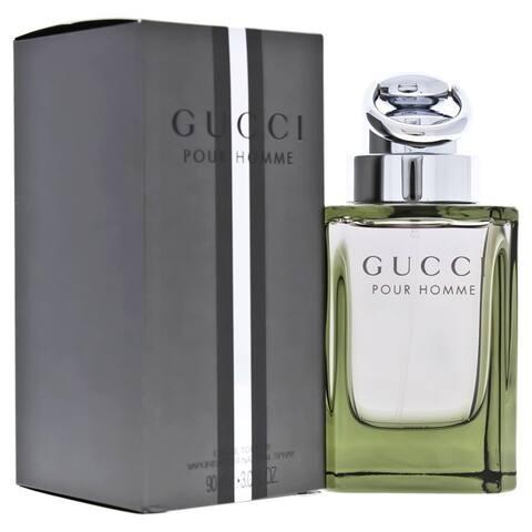 Gucci Men's 3-ounce Eau de Toilette Spray