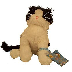 Webkinz Black-and-White Cat and Trading Cards Set - Thumbnail 0