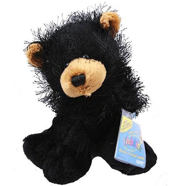 Webkinz Black Bear and Cards Set