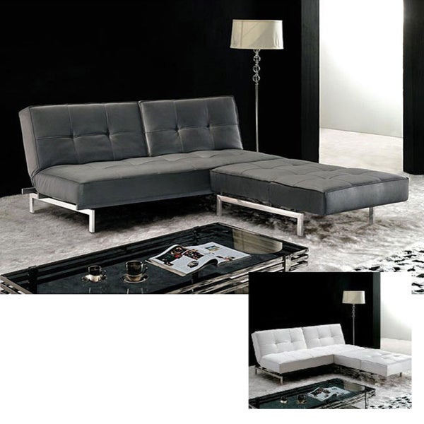 Furniture of America Canescent Modern Contemporary Sectional Sofabed