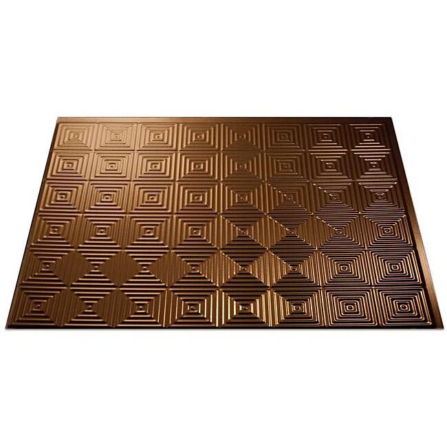 Fasade Oil-rubbed Bronze Backsplash Panels (Set of 4)