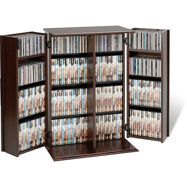 Everett Locking DVD/ CD Media Storage Cabinet